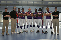 Defensive Coordinator Ed O`neil, LB Sarth Benoit, LB Jared Newberry, LB Matt Sinclair,LB Shurendy Concetion, LB Travis Harris,  LB Matt Farrior,