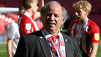 Brentford Chairman, Cliff Crown during Brentford vs Swansea City, Sky Bet EFL Championship Play-Off Final Football at Wembley Stadium on 29th May 2021