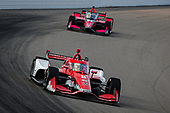 #8: Marcus Ericsson, Chip Ganassi Racing Honda, #55: Alex Palou, Dale Coyne Racing with Team Goh Honda