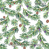 Randy, GIFT WRAPS, GESCHENKPAPIER, PAPEL DE REGALO, paintings+++++Wintering-Birds-Pine-Pattern-on-White,USRW214,#GP# Christmas napkins