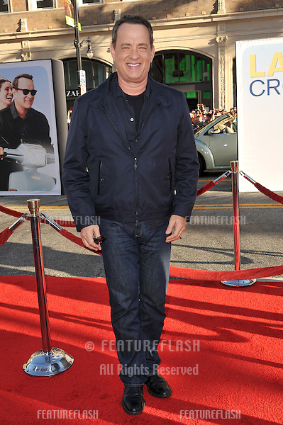 """Tom Hanks at the world premiere of his new movie """"Larry Crowne"""" at Grauman's Chinese Theatre, Hollywood..June 27, 2011  Los Angeles, CA.Picture: Paul Smith / Featureflash"""