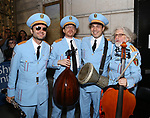 The Alexandria Ceremonial Police Orchestra  during 'The Band's Visit'  Post-Show Jam celebrating the 10 Time Tony Award Winning Best Musical at the Barrymore Theatre on June 12, 2018 in New York City.