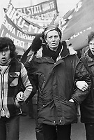 - the english actress Vanessa Redgrave participates to a demonstration in Milan during the European international march organized by the - Workers' Revolutionary Party -for the defense of the rights of the workers (January 1978)<br /> <br /> - l'attrice inglese Vanessa Redgrave partecipa ad una manifestazione a Milano durante la marcia internazionale europea organizzata dal - Workers' Revolutionary Party -per la difesa dei diritti dei lavoratori (gennaio 1978)