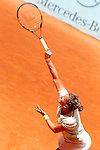 Barbora Strycova during Madrid Open Tennis 2015 match.May, 6, 2015.(ALTERPHOTOS/Acero)