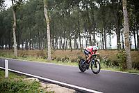 Nelson Oliveira (POR/Movistar)<br /> <br /> Men Elite Individual Time Trial <br /> from Knokke-Heist to Bruges (43.3 km)<br /> <br /> UCI Road World Championships - Flanders Belgium 2021<br /> <br /> ©kramon