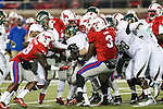 South Florida Bulls running back Marlon Mack (5) in action during the game between the South Florida Bulls and the SMU Mustangs at the Gerald J. Ford Stadium in Fort Worth, Texas. SMU leads USF 13 to 0 at halftime.