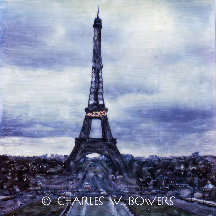 The Eiffel Tower celebrates the turn of the century - 2000. Paris vibrates with the excitement of a new century while it's most famous landmark announces the coming century to the city and the world.