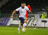 12th November 2020; Liberty Stadium, Swansea, Glamorgan, Wales; International Football Friendly; Wales versus United States of America; Sebastian Lletget of USA brings the ball forward