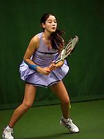 6-12-09, Almere, Tennis, REAAL winterjeugdcircuit, Masters,  Anna Alzate
