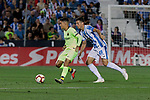 FC Barcelona's Philippe Coutinho during La Liga match between CD Leganes and FC Barcelona at Butarque Stadium in Madrid, Spain. September 26, 2018. (ALTERPHOTOS/A. Perez Meca)