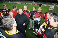Ansprache von Trainer Walter Rohlfing<br /> Länderspiel Deutschland vs. Schweden<br /> *** Local Caption *** Foto ist honorarpflichtig! zzgl. gesetzl. MwSt. Auf Anfrage in hoeherer Qualitaet/Aufloesung. Belegexemplar an: Marc Schueler, Am Ziegelfalltor 4, 64625 Bensheim, Tel. +49 (0) 151 11 65 49 88, www.gameday-mediaservices.de. Email: marc.schueler@gameday-mediaservices.de, Bankverbindung: Volksbank Bergstrasse, Kto.: 151297, BLZ: 50960101