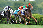 Daveron Ridden by Eddie Castro Winner of the Ballston Spa Stakes (Grade III) at  Saratoga Race Course in Saratoga Springs, NY  on 8/27/11. Trained by Graham Motion (Ryan Lasek / Eclipse Sportwire)