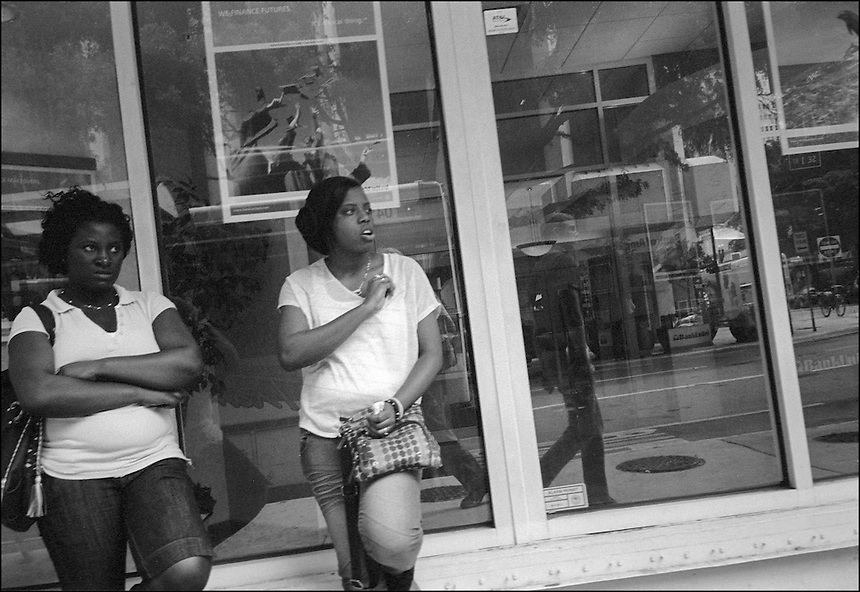 """Girls and Boys<br /> From """"Miami in Black and White"""" series<br /> Downtown Miami, May 2011"""