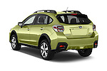 Car pictures of rear three quarter view of a 2015 Subaru Xv Hybrid 5 Door SUV angular rear