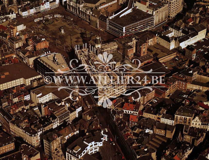 Maart 1978. Groenplaats in Antwerpen.