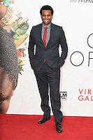 """Tendo Nagena<br /> at the London Film Festival 2016 premiere of """"Queen of Katwe"""" at the Odeon Leicester Square, London.<br /> <br /> <br /> ©Ash Knotek  D3168  09/10/2016"""
