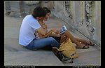 Italy, Milan. <br />