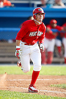August 2, 2009:  Second Baseman Devin Goodwin of the Batavia Muckdogs during a game at Dwyer Stadium in Batavia, NY.  The Muckdogs are the Short-Season Class-A affiliate of the St. Louis Cardinals.  Photo By Mike Janes/Four Seam Images
