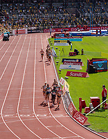 4th July 2021; Stockholm Olympic Stadium, Stockholm, Sweden; Diamond League Grand Prix Athletics, Bauhaus Gala; The women's 1500m race in action