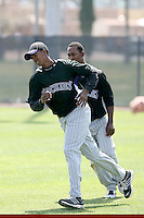 Johendi Jiminian, Colorado Rockies 2010 minor league spring training..Photo by:  Bill Mitchell/Four Seam Images.