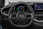 Car pictures of steering wheel view of a 2021 Fiat 500 Icon 3 Door Hatchback Steering Wheel