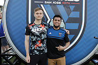 SAN JOSE, CA - AUGUST 03: Nevix, CaliSCG  prior to a Major League Soccer (MLS) match between the San Jose Earthquakes and the Columbus Crew on August 03, 2019 at Avaya Stadium in San Jose, California.