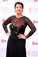 Denise Welch<br />  arriving at the Bafta Tv awards 2017. Royal Festival Hall,London  <br /> ©Ash Knotek