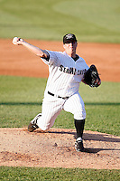 May 30, 2009:  Pitcher Jonah Nickerson of the Erie Seawolves delivers a pitch during a game at Jerry Uht Park in Erie, PA.  The Seawolves are the Double-A Eastern League affiliate of the Detroit Tigers.  Photo By Mike Janes/Four Seam Images