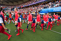 PARIS,  - JUNE 16: null during a game between Chile and USWNT at Parc des Princes on June 16, 2019 in Paris, France.