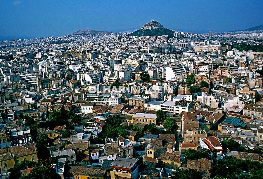 Cidade de Atenas. Grécia. 1985. Foto de João Caldas.