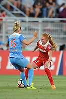 Boyds, MD - Saturday August 26, 2017: Kristie Mewis, Tori Huster during a regular season National Women's Soccer League (NWSL) match between the Washington Spirit and the Chicago Red Stars at Maureen Hendricks Field, Maryland SoccerPlex.