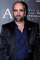 28/01/2012. Real Casa de Correos. Madrid. Spain. Goya Awards Nominated Gala 2012. Luis Tosar