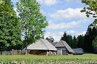 zemaitisches Freilichtmuseum in Telsiai, Litauen, Europa