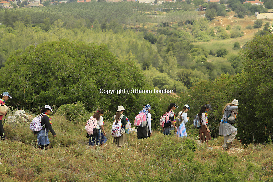 Israel, Jerusalem mountains, the trail to Bet Itab