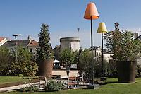Europe/France/Aquitaine/24/Dordogne/Périgueux: La Place Francheville et  la tour Mataguerre