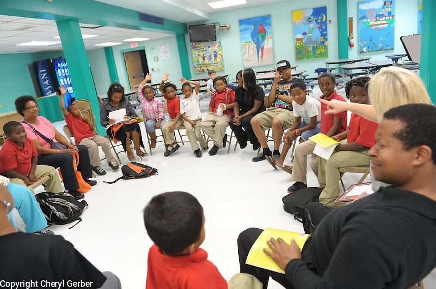 LEH's Prime Time reading program for kids and family.
