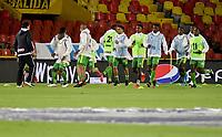 BOGOTA - COLOMBIA, 21-07-2021: Millonarios F.C. y Deportes Quindío en partido por la fecha 2 de la Liga BetPlay DIMAYOR II 2021 jugado en el estadio Nemesio Camacho El Campin de la ciudad de Bogotá. / Millonarios F.C. and Deportes Quindio in match for the date 2 of the BetPlay DIMAYOR League II 2021 played at the Nemesio Camacho El Campin Stadium in Bogota city. Photo: VizzorImage /  Luis Ramirez / Staff