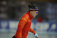SPEEDSKATING: ERFURT: 19-01-2018, ISU World Cup, 1000m Ladies A Division, Ireen Wüst (NED), photo: Martin de Jong