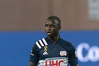 FOXBOROUGH, MA - SEPTEMBER 02: Kekuta Manneh #31 of New England Revolution on field portrait during a game between New York City FC and New England Revolution at Gillette Stadium on September 02, 2020 in Foxborough, Massachusetts.