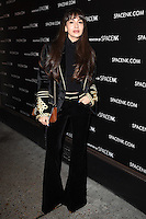 Zara Martin<br /> at the opening of the 'Innovation by Space NK' store on Regent's Street, London.<br /> <br /> <br /> ©Ash Knotek  D3196  10/11/2016