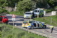 Accident on Woburn Road Kempston (Bedford) involving a Police Vehicle - 150516