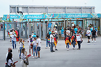 Deutsche Fans - Muenchen 23.06.2021: Deutschland vs. Ungarn, Allianz Arena Muenchen, Euro2020, emonline, emspor, <br /> <br /> Foto: Marc Schueler/Sportpics.de<br /> Nur für journalistische Zwecke. Only for editorial use. (DFL/DFB REGULATIONS PROHIBIT ANY USE OF PHOTOGRAPHS as IMAGE SEQUENCES and/or QUASI-VIDEO)