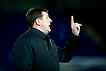 St Johnstone v Motherwell…..12.02.20   McDiarmid Park   SPFL<br />Tommy Wright gives instructions<br />Picture by Graeme Hart.<br />Copyright Perthshire Picture Agency<br />Tel: 01738 623350  Mobile: 07990 594431