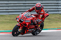 2nd October 2021; Austin, Texas, USA;  Francesco Bagnaia (63) - (ITA) riding a Ducati for the Ducati Lenovo Team during Free Practise 3 at he MotoGP Red Bull Grand Prix of the Americas held October 2, 2021 at the Circuit of the Americas in Austin, TX.