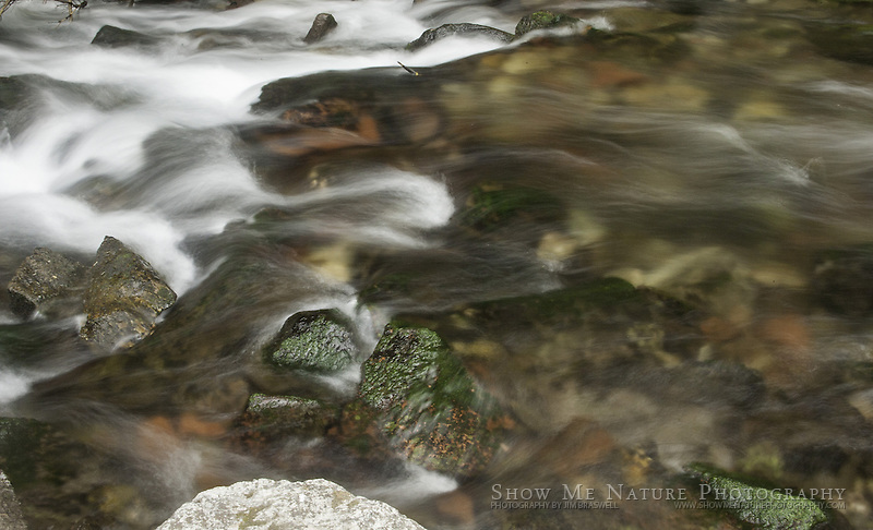 Maroon Creek, captured with a slow shutter speed
