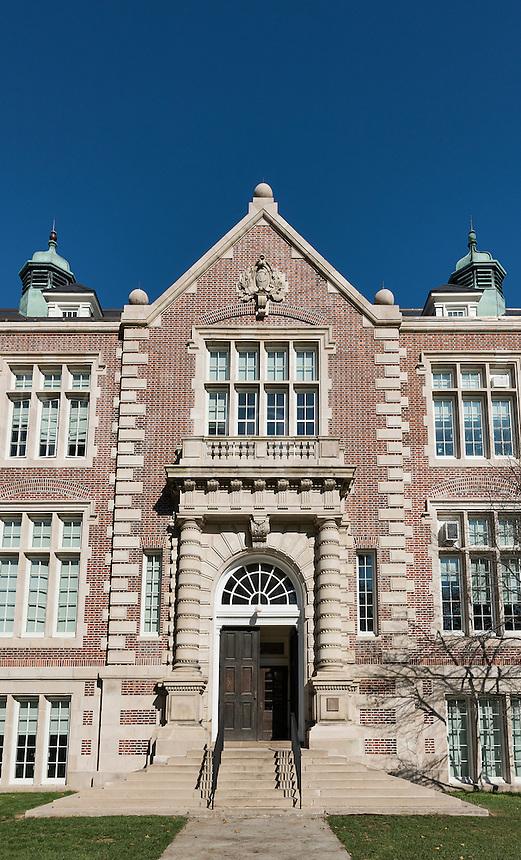 Rockefeller Hall at Vassar College, Poughkeepsie, New York, USA