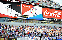 Philadelphia, PA. - June 11, 2016: fans during Copa America Centenario Group A match between United States (USA) and Paraguay (PAR) at Lincoln Financial Field.