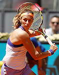 Mariana Duque-Marino during Madrid Open Tennis 2015 match.May, 5, 2015.(ALTERPHOTOS/Acero)