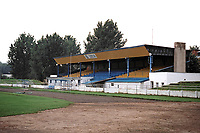 General view of Ozeta Stadium, formerly owned by Ozeta Trencin and later used as training facilities for AS Trencin