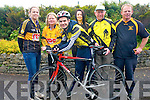 Gearing up for this weekend's cycle are Currow Cycling Club and Currow Ladies GAA club who have teamed up to host a leisure cycle.<br />L-R Noelle Scanlon, Pa Breen (treasurer of Currow Cycling Club), Margo Brosnan (chair of Currow Ladies), Shane O'Neill (youth officer Currow Cycling Club), Roisin Daly and David Costello.